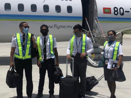FlyMe commences International flight operations with first flight to Sri Lanka. A major milestone