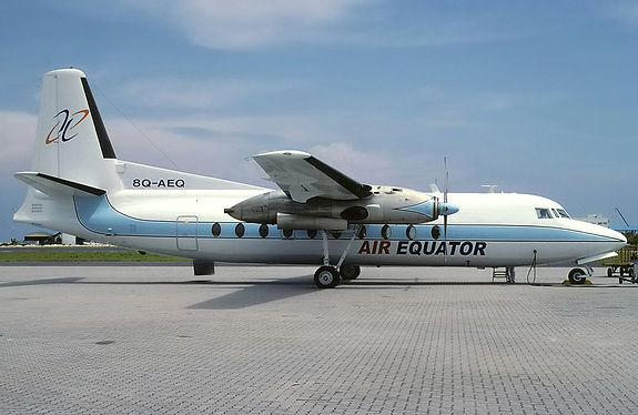 Air_Equator_Fairchild_F-27F_at_Male_Inte