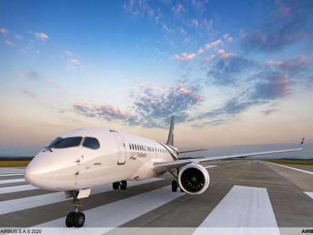 Airbus unveils Airbus Corporate Jet 220.