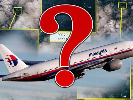 Could the MQ-9 wing be the same aircraft spotted by locals from Kudahuvadhoo  reported to be MH370?
