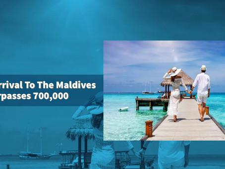 Tourist Arrival To The Maldives Surpasses 700,000