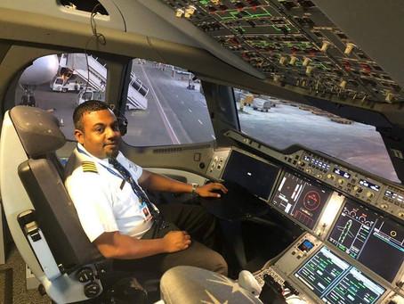 Maldivian's Head of training & Standard/Head of ATO Captain Hunain speaks regarding flight operation