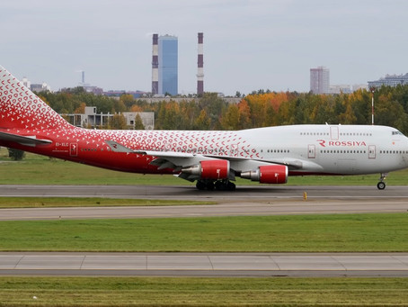 Rossiya Airlines to fly Moscow to Male' route from Nov 14th On the Boeing 747