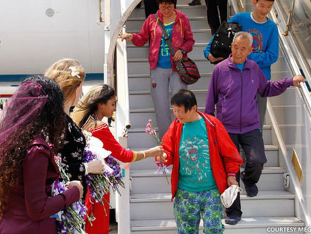 Would we see Chinese tourists in the Maldives for the Chinese New Year?
