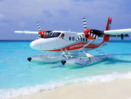 Trans Maldivian Airways DHC6 Twin Otter suffers wing damage