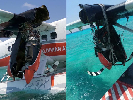 MCAA released preliminary report on Trans Maldivian Airways 8Q-MBC bounced landing on Feb 24th 2020.