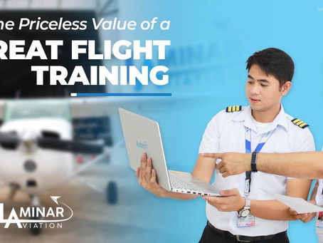 Get Your Pilot License In Laminar Aviation In The Philippines