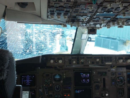 How Can An Airplane's Windshield crack?