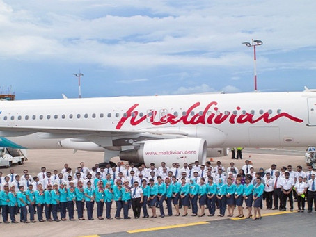 National Airline Maldivian Received A Revenue Of MVR 265 Million In Q1 Of 2021