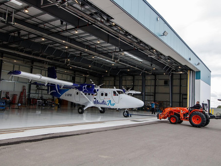 Manta Air's Latest Twin Otter Embarks On Journey From Canada To The Maldives