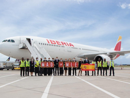 Iberia To Continue Flights To Maldives From December Till February 2022