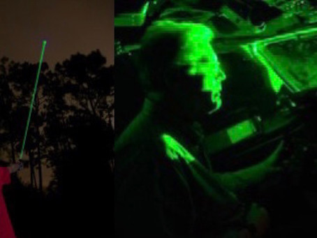 Why Pointing Laser Towards An Airplane Is Dangerous