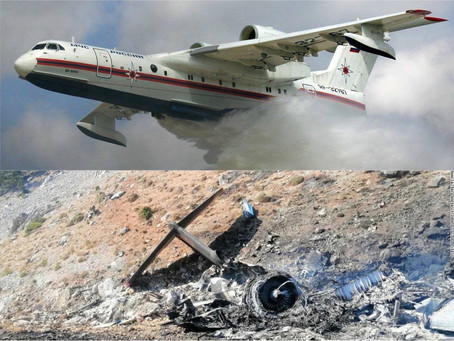 Russian Airplane Deployed To Turkey Fighting Wildfires Crashes Killing All Occupants Onboard