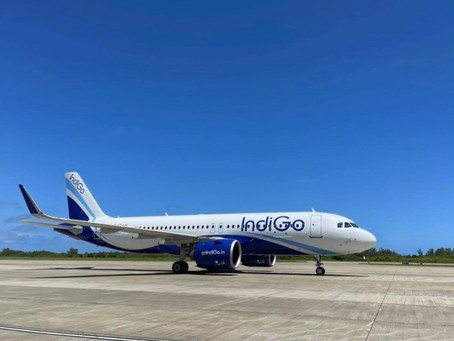IndiGo Airlines Arrives In Gan On Second Charter Flight From Cochin