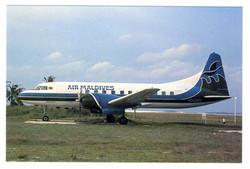 Convair 340 Postcard