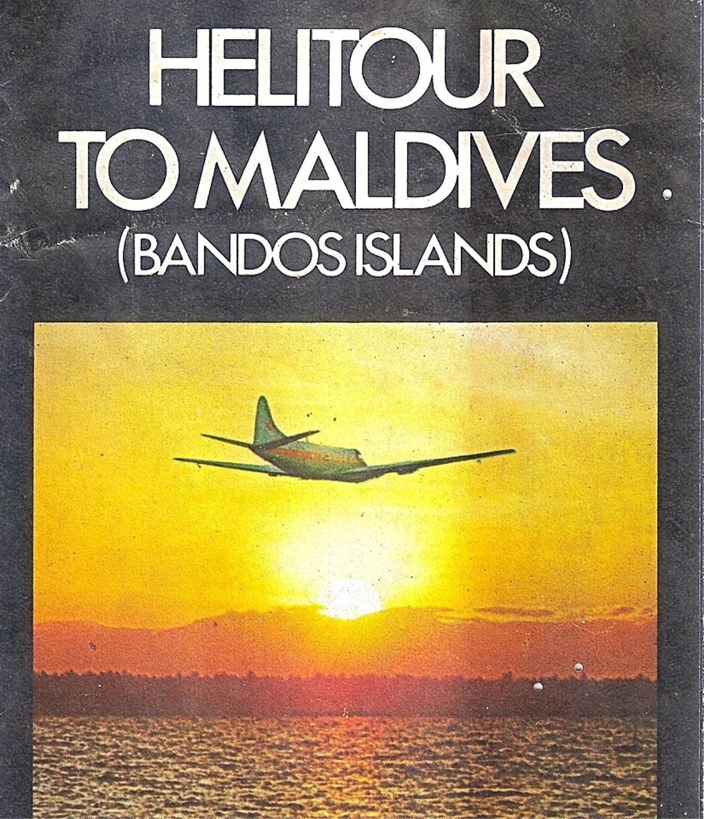 A Helitours ad — courtesy Capt Noel Lokuge