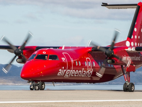 An Air Greenland Dash8 suffers engine failure in flight for the third time in three months