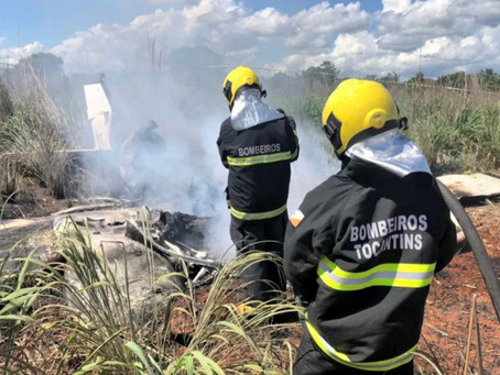 Brazilian Football club Palmas President and four players dead in plane crash