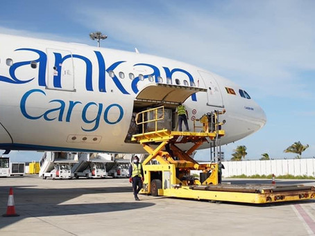 Spence Maldives to arrange a cargo charter flight from Bangkok, Thailand  to Maldives