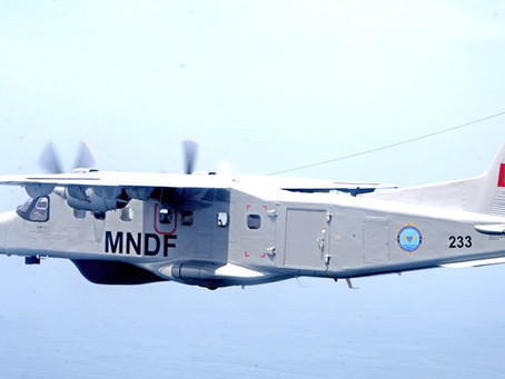 Dornier Do228 aircraft gifted by India arrives in the Maldives