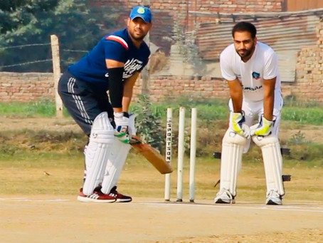Corporate cricket and the unlikely hero story : An Interview with Pushpender Singh