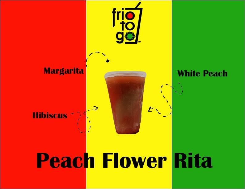 Peach Flower Rita
