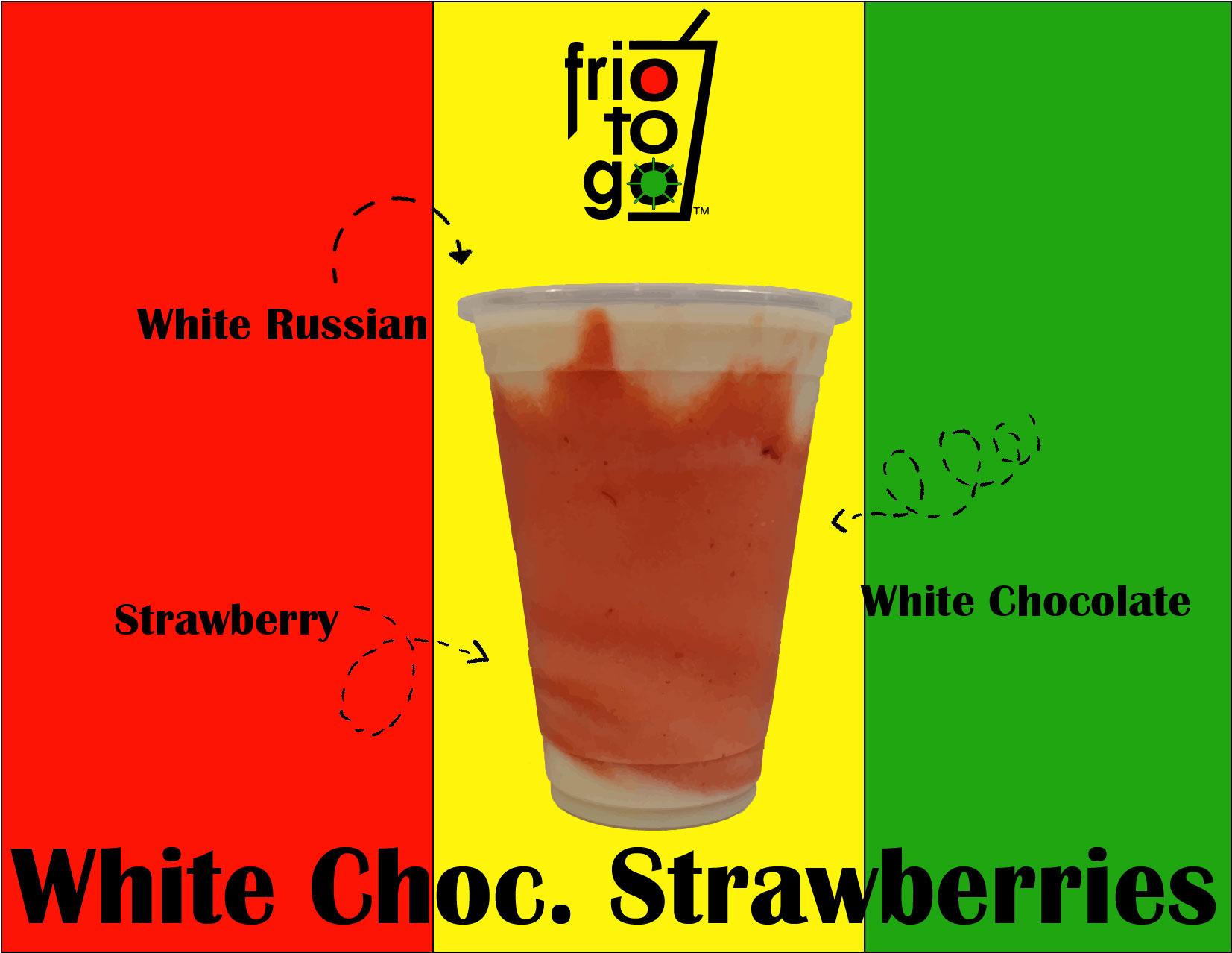 White Choc. Strawberries