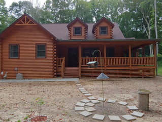 A New Cabin is Finally Complete