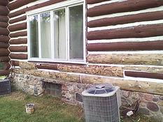 Indiana log home repair