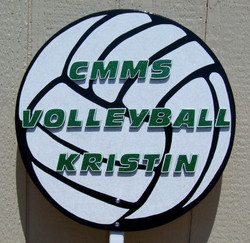 Vollyball Sign