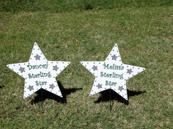 Custom Drill Team Signs