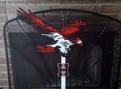 Large Mascot Sign