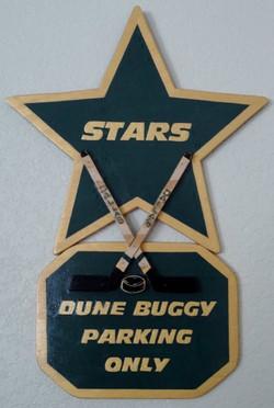 Custom Hockey Hanging Sign