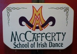 Irish Dance School Sign