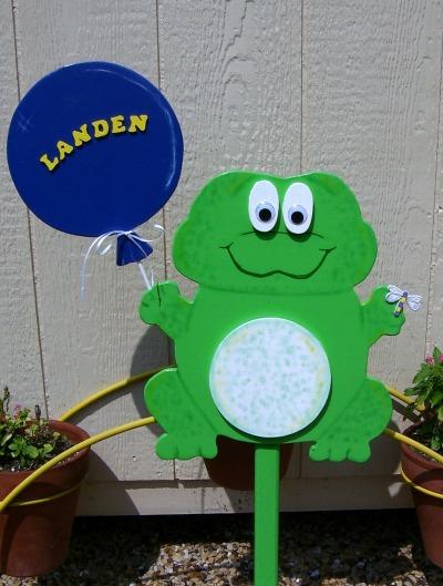 Custom Sign (Frog)