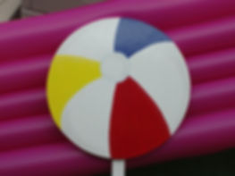 "Large Beach Ball 15"" diameter"