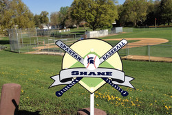 Custom Baseball Sign