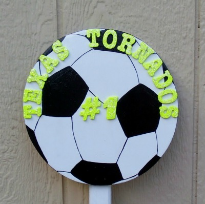 Soccerball Sign