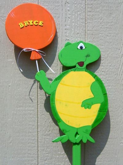 Custom Sign (Turtle)