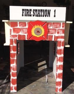 Fire Station Bookshelf