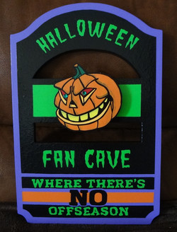 Fan Cave Sign