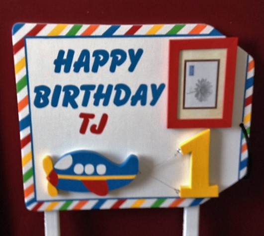 Custom 1st Birthday Sign
