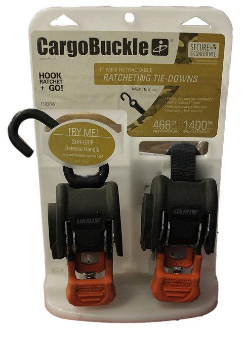 CargoBuckle Mini G3 Retractable Ratchet System
