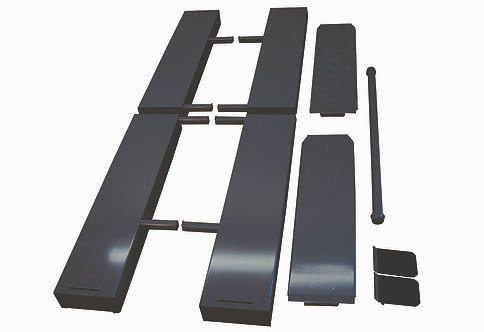 """S.A.M. 2 1000 Lift 10"""" Side Extensions"""