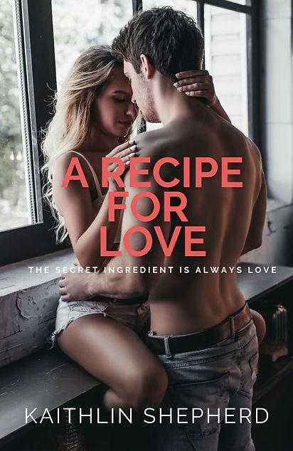 A Recipe For Love Alternate Front Cover