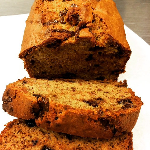 BROWN BUTTER BANANA BREAD LOAF