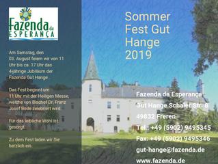 Sommerfest mit unserem Bischof Dr. Franz Josef Bode am 03.08.2019