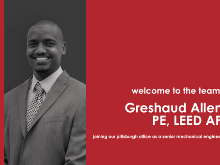 Greshaud Allen joins Tec Inc.'s Pittsburgh Office