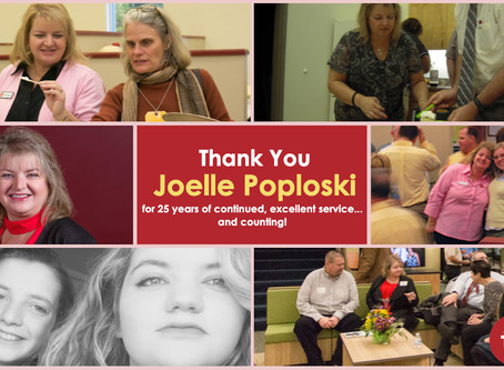 Joelle Poploske Celebrates 25 Years with Tec Inc. Family