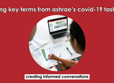 Good Terms to Know from ASHRAE'S COVID-19 Guide